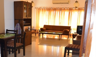 1BHK Valley View Bogmallo