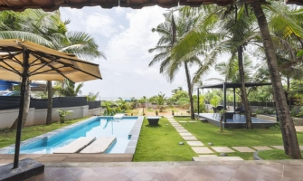 4bhk Villa on Calangute Beach